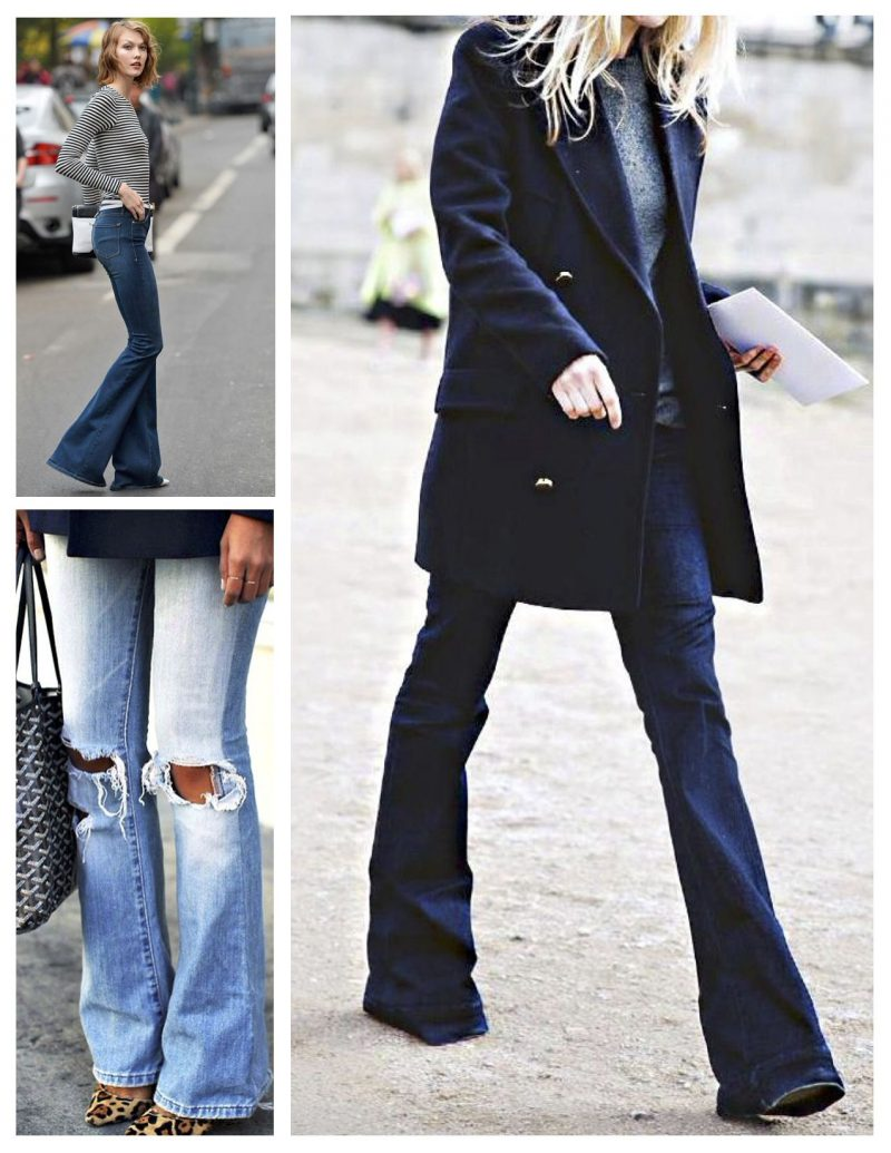 How to Style Flared Jeans 2020