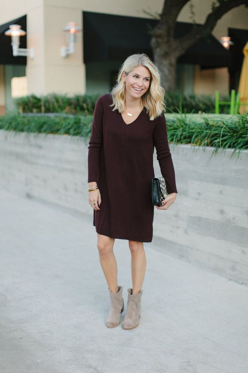 Sweater Dresses: Look For The Best Styles 2019