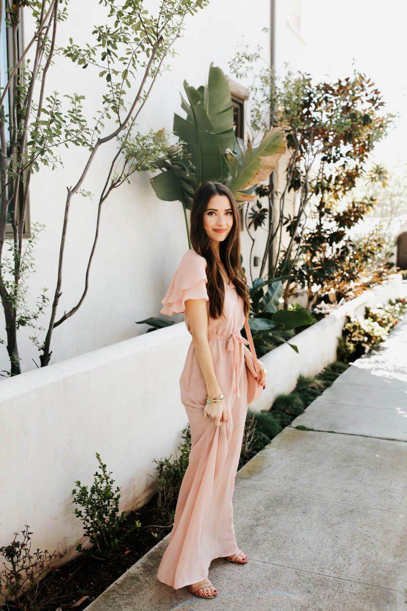 Blush Color Dresses 2019
