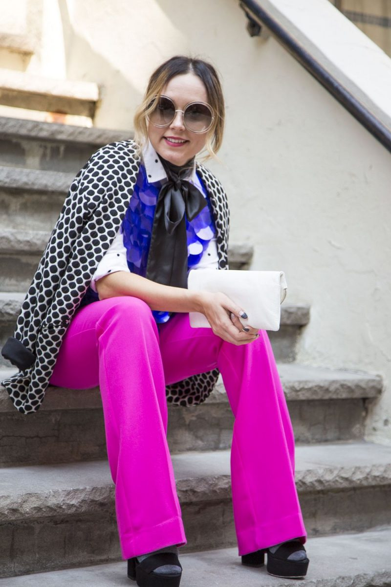 2018 Polka Dot Clothes And Accessories For Women (12)