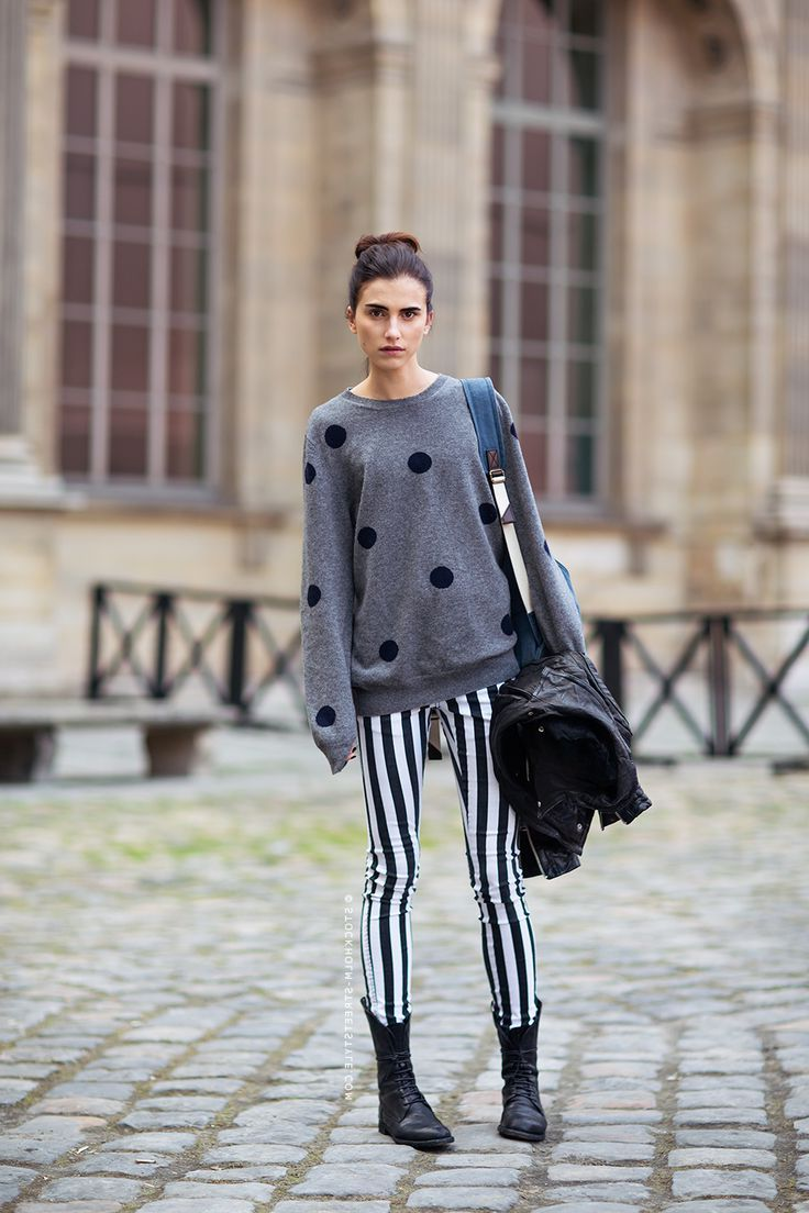 2018 Polka Dot Clothes And Accessories For Women (15)