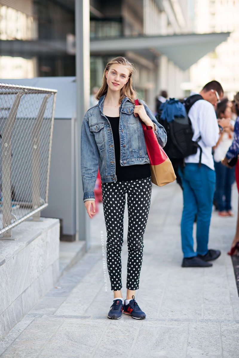 2018 Polka Dot Clothes And Accessories For Women (16)