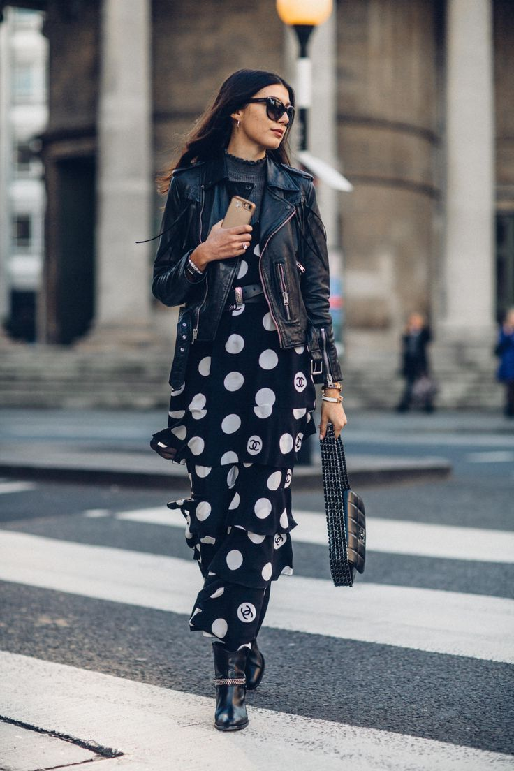 2018 Polka Dot Clothes And Accessories For Women (2)