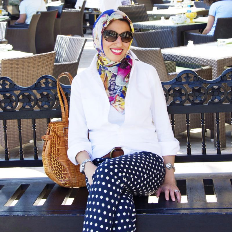 2018 Polka Dot Clothes And Accessories For Women (4)