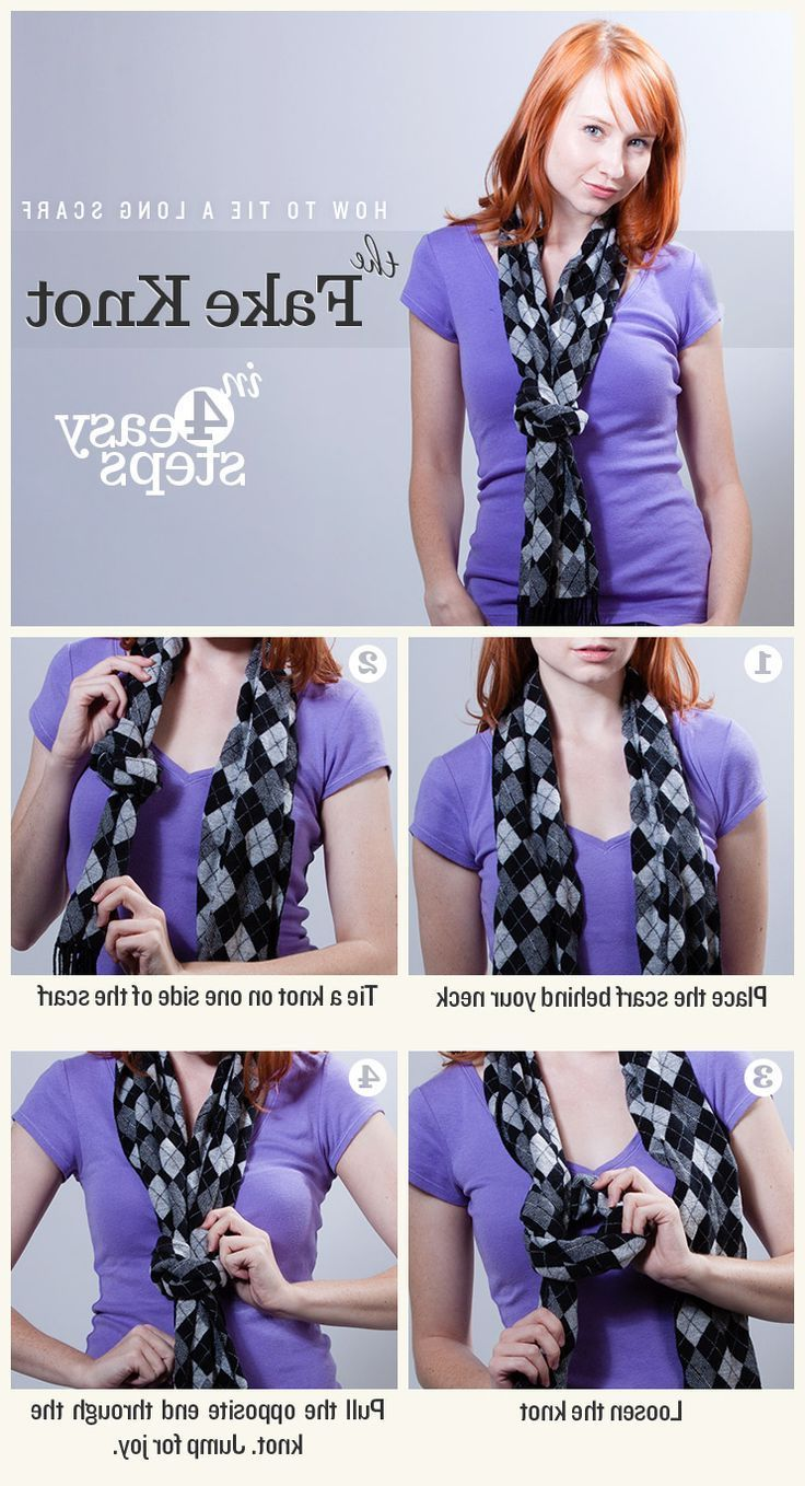 Women Scarf Tying Ideas 2020