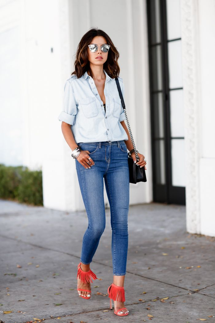 f0ea3828 How to Wear Skinny Jeans 2019 ⋆ FashionTrendWalk.com