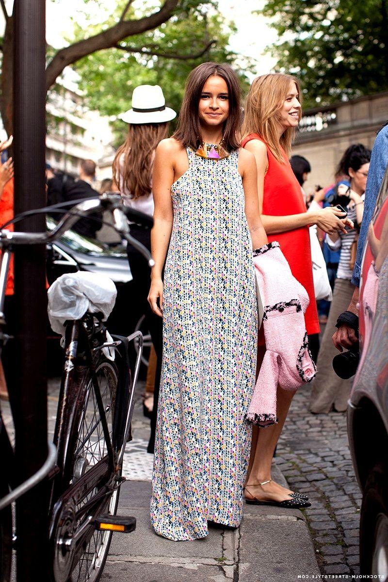 Summer Maxi Dresses Fashion Tips 2020