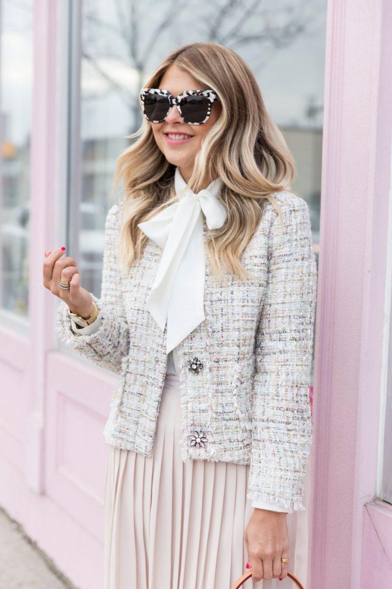 Tweed Jackets Street Style 2019