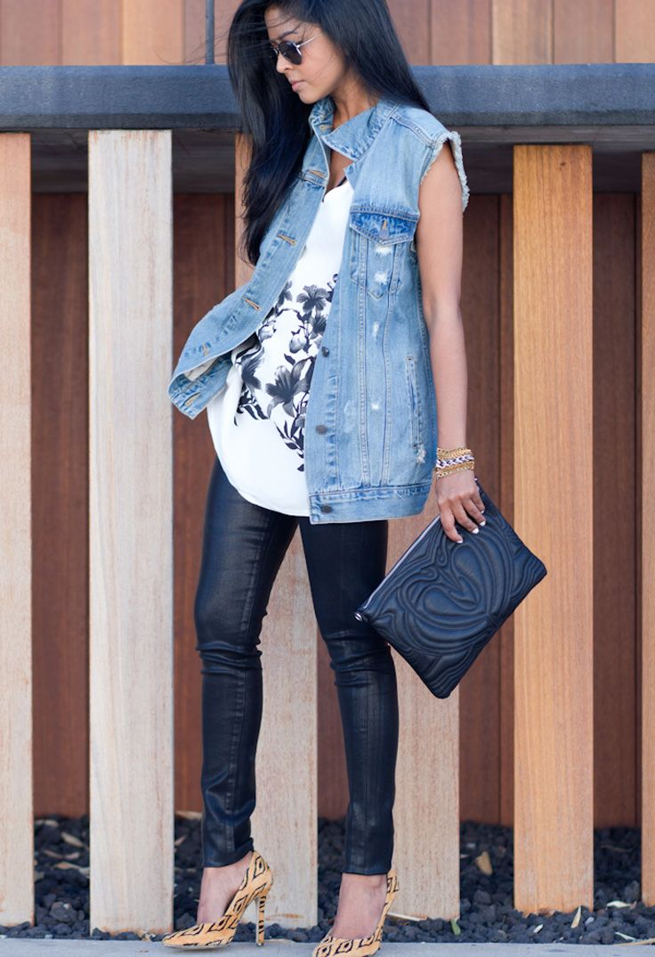 2018 Best Denim Shirts For Women Street Style Must Haves (15)