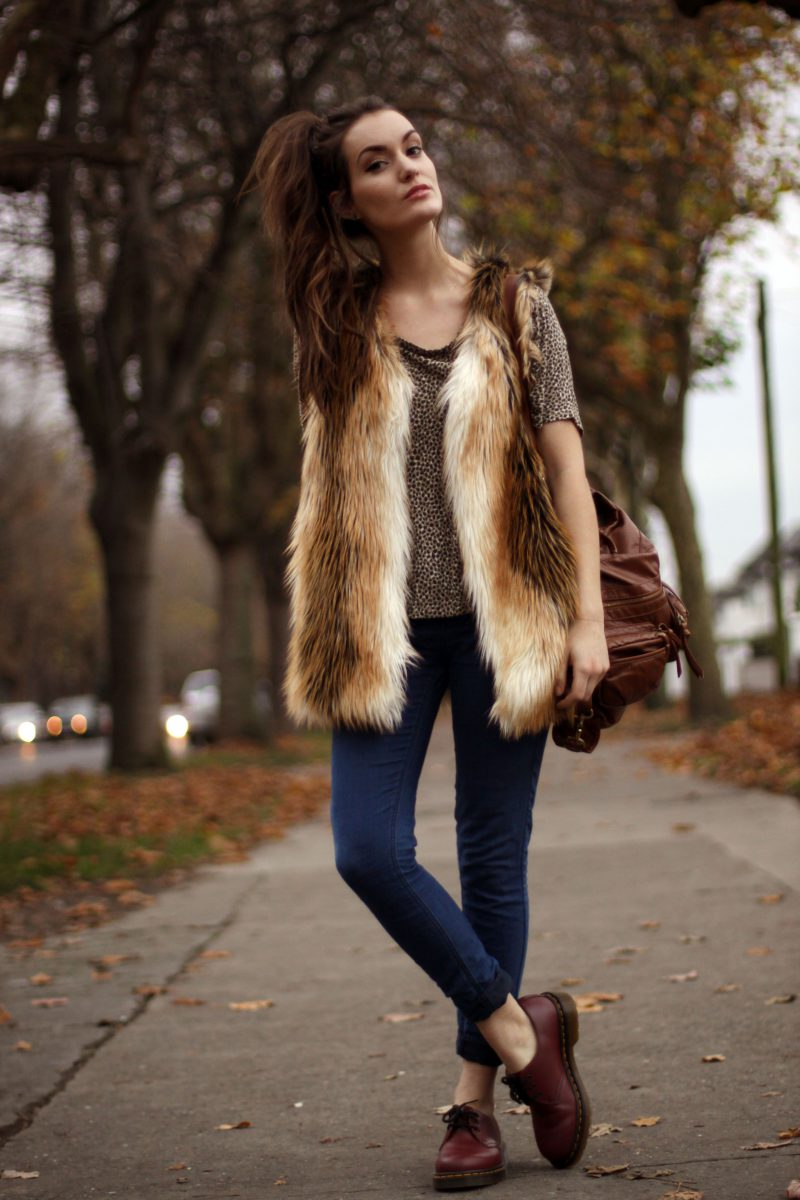 How To Make Fur Vest Look Awesome 2019