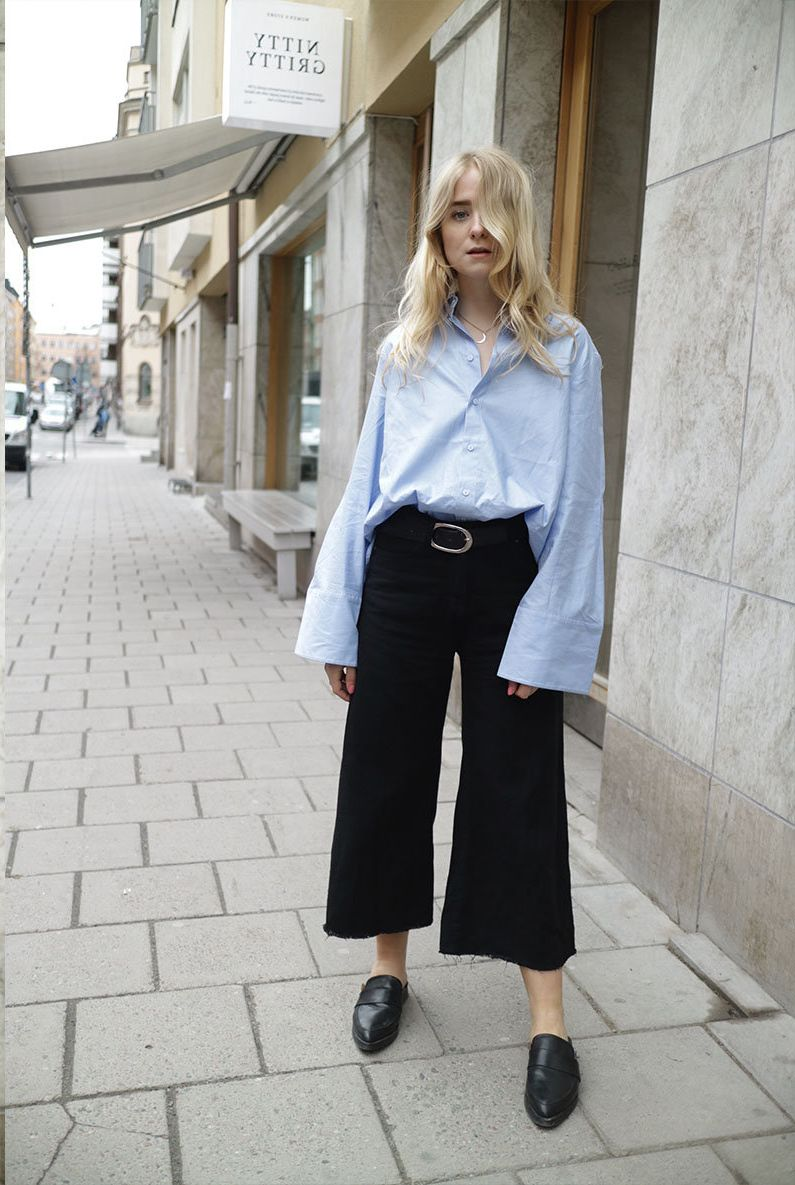 How to Wear Cropped Flare Pants 2019
