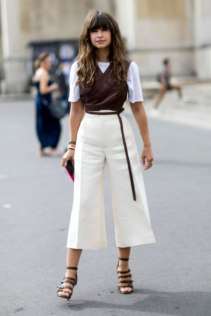 Cropped Pants: How To Wear Them 2019