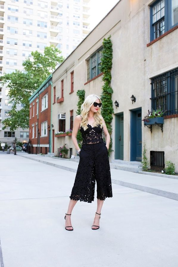 How To Wear Culottes Trend 2020