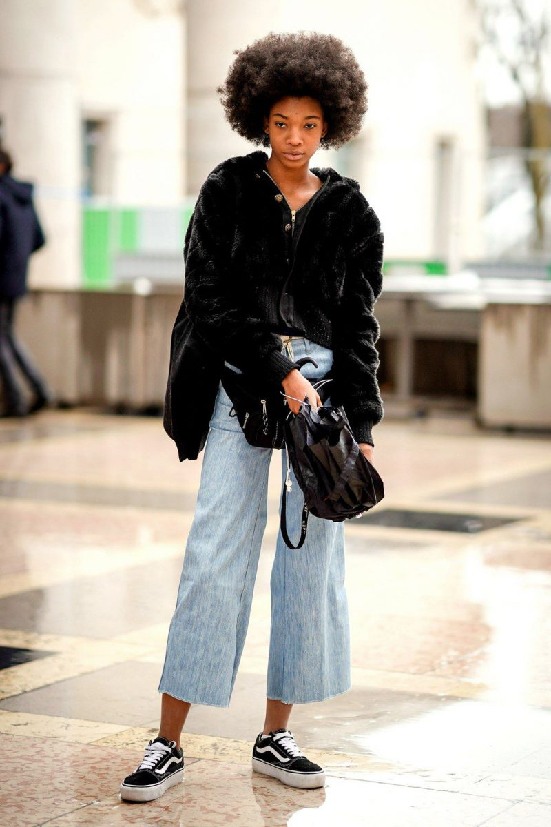 2018 Culottes For Women Cool Street Style Ideas (37)