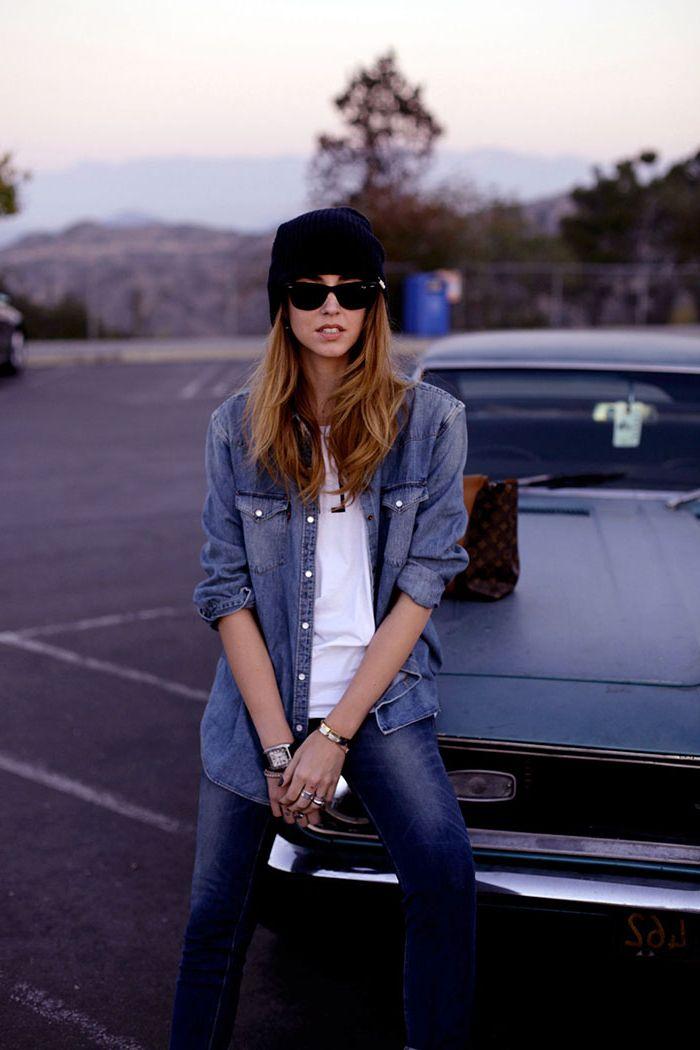 How to Wear Denim on Denim 2020