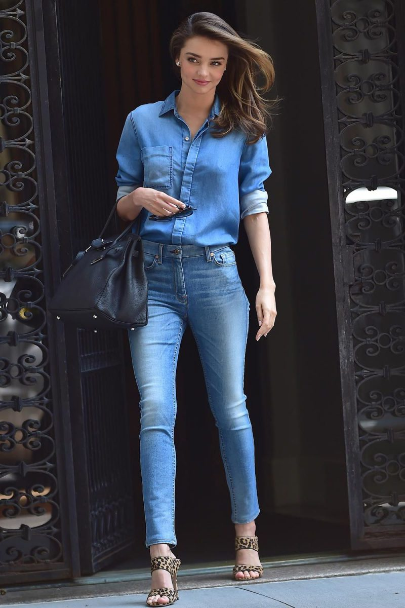 2018 Double Denim Outfit Ideas For Women Copy Now (23)