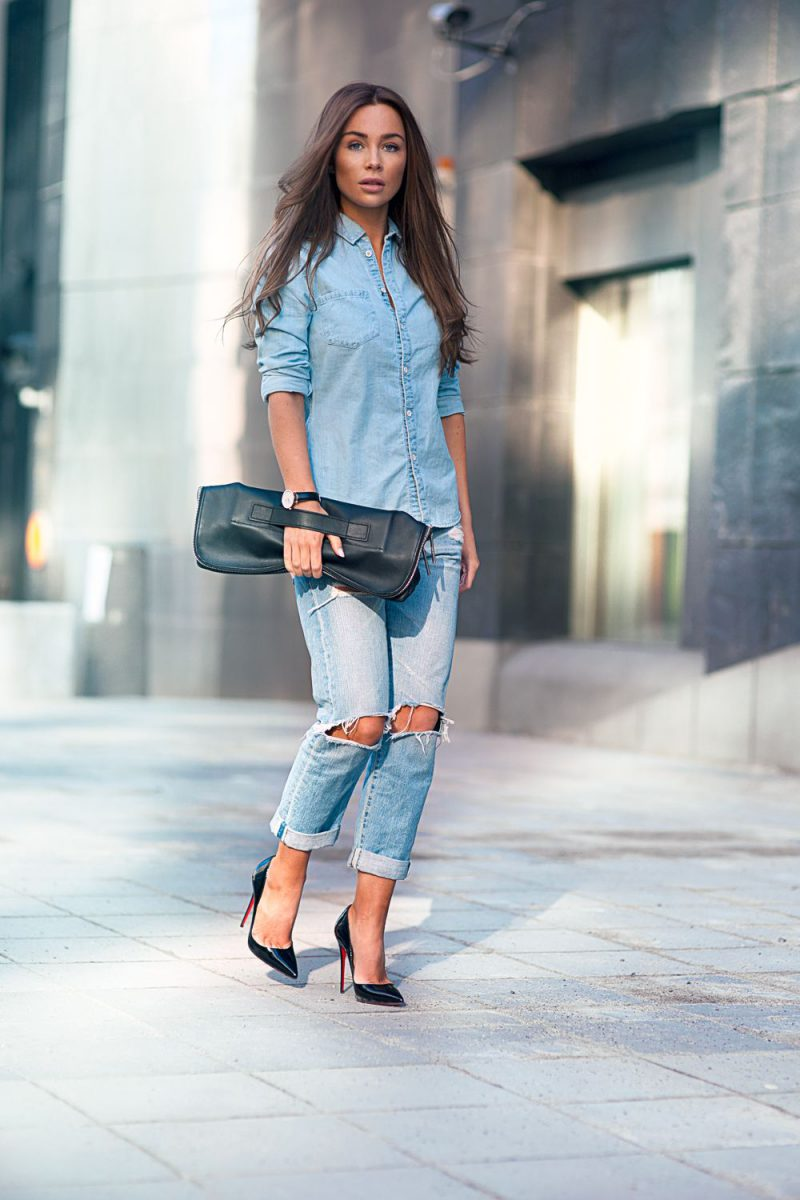 2018 Double Denim Outfit Ideas For Women Copy Now (28)