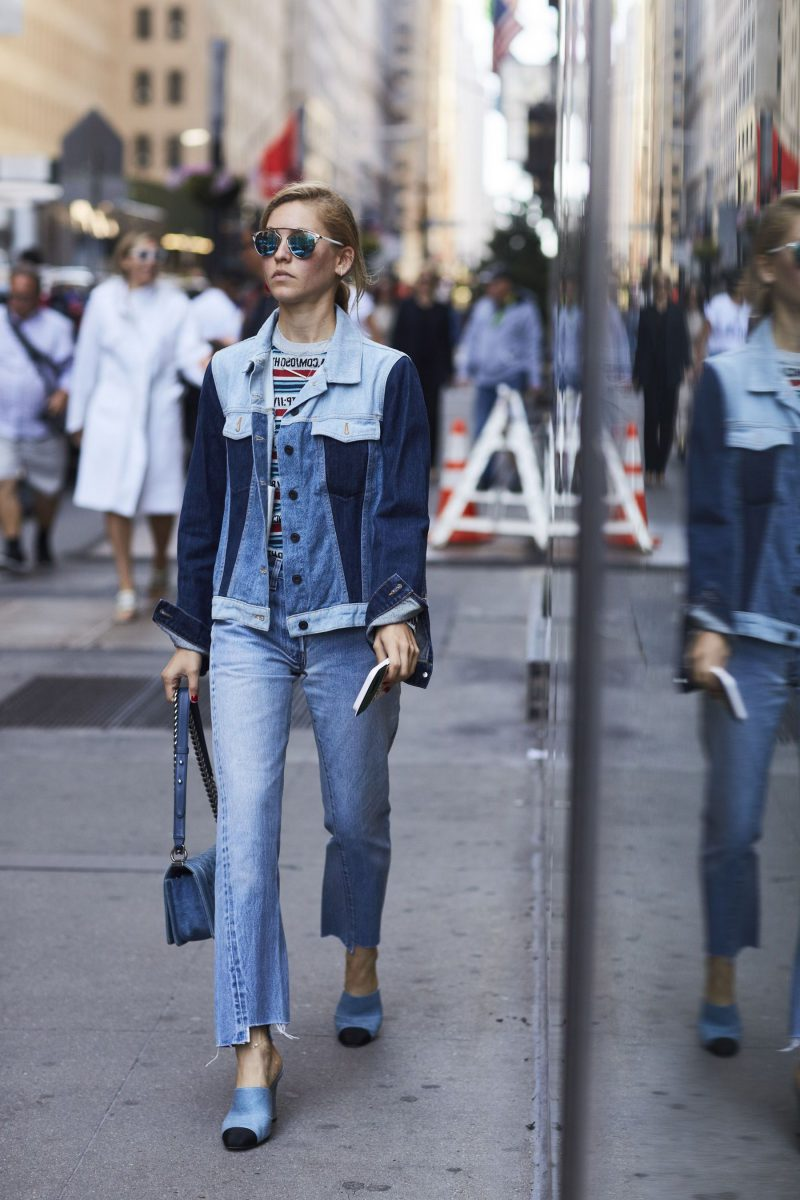 2018 Double Denim Outfit Ideas For Women Copy Now (30)