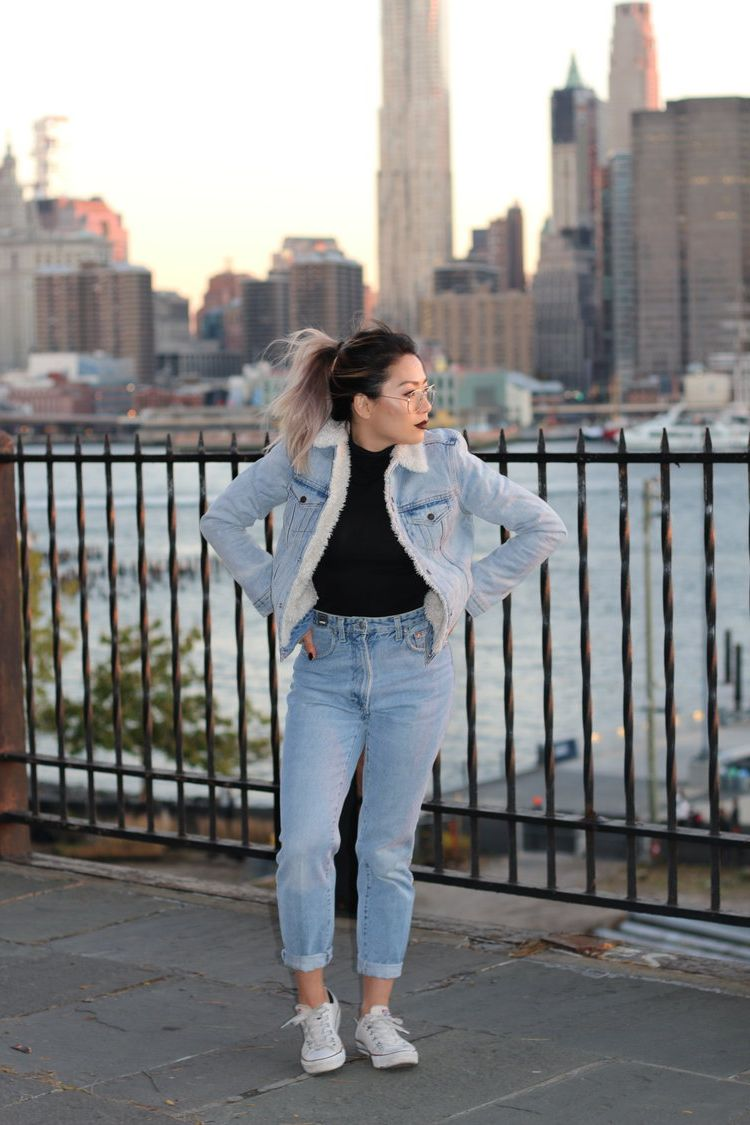 2018 Double Denim Outfit Ideas For Women Copy Now (31)