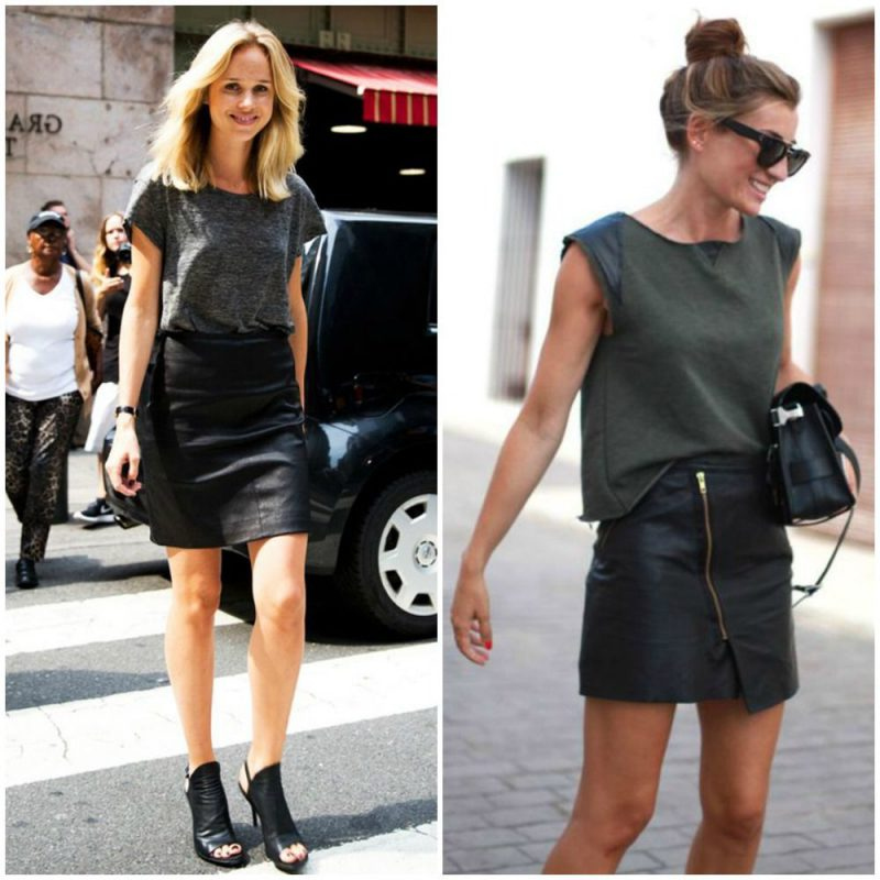 Leather Shorts And Skirts For Women 2019
