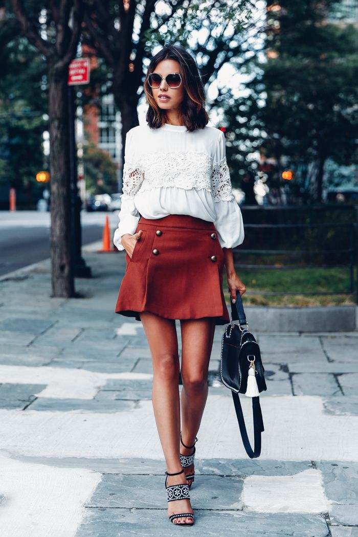 How To Look Stylish In Mini Skirts 2019