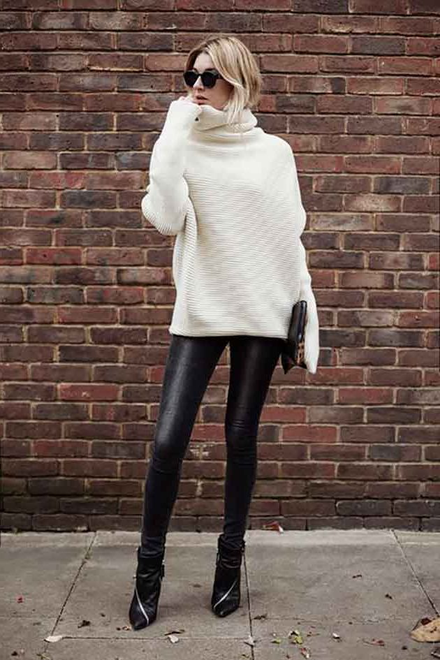 Big Sweaters with Leggings