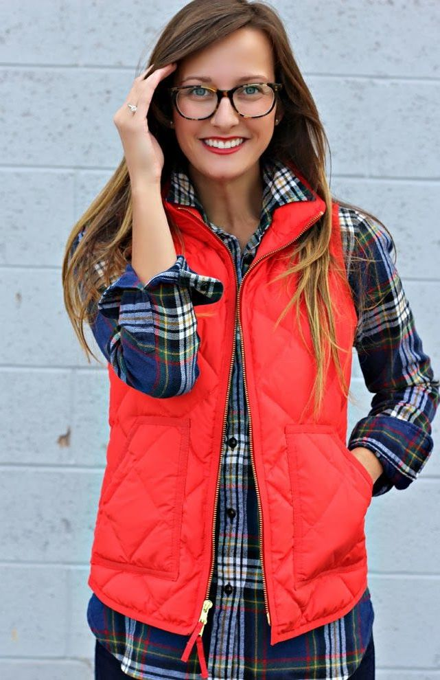 2018 Puffer Vests For Women Street Style Ideas To Try Now (23)