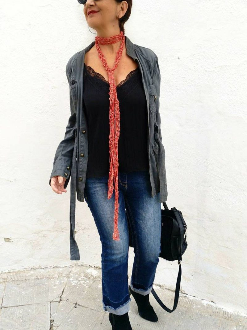 How to Wear Skinny Scarves For Women 2019