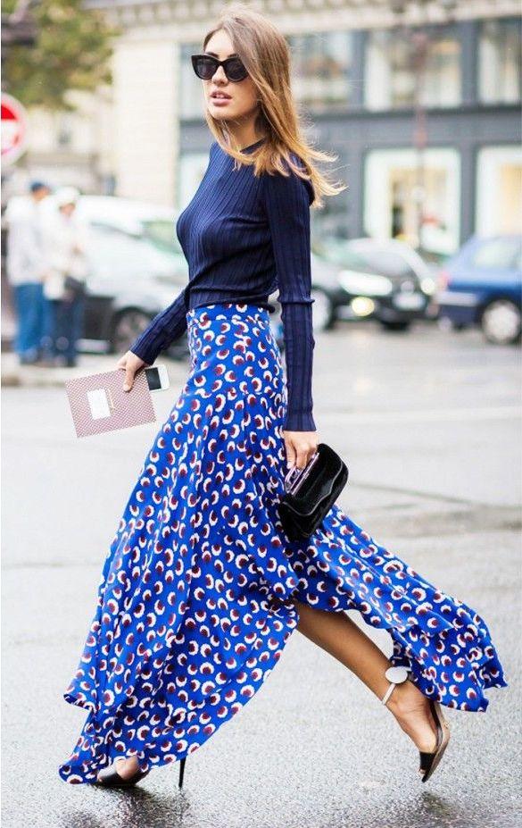 Best Ways to Wear Slit Skirts 2019