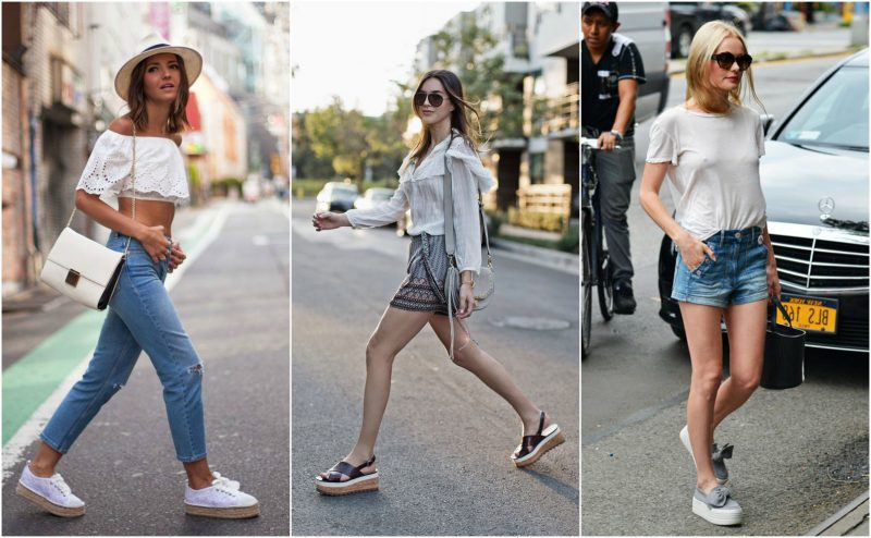 My Favorite Wedge Sneakers 2019