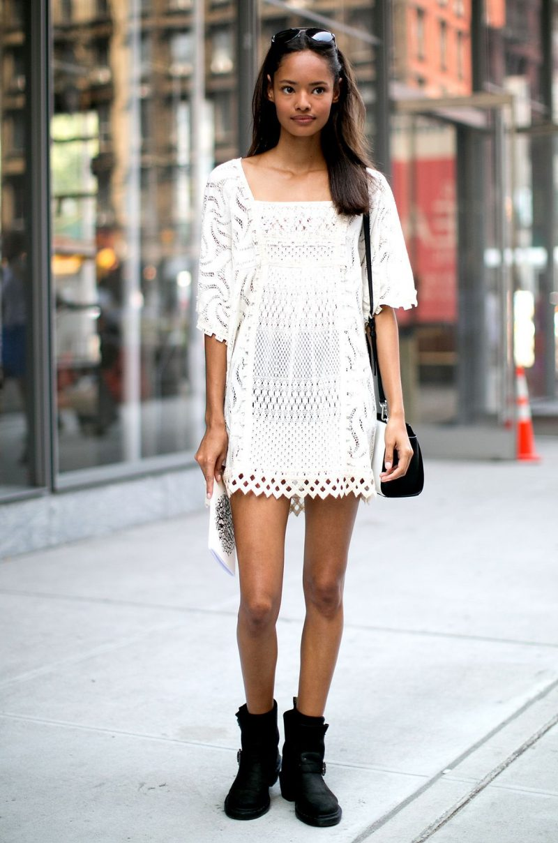 How To Style White Lace Dresses 2019