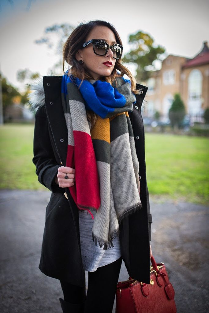 Must-Have Oversized Scarves You Need this Winter 2019