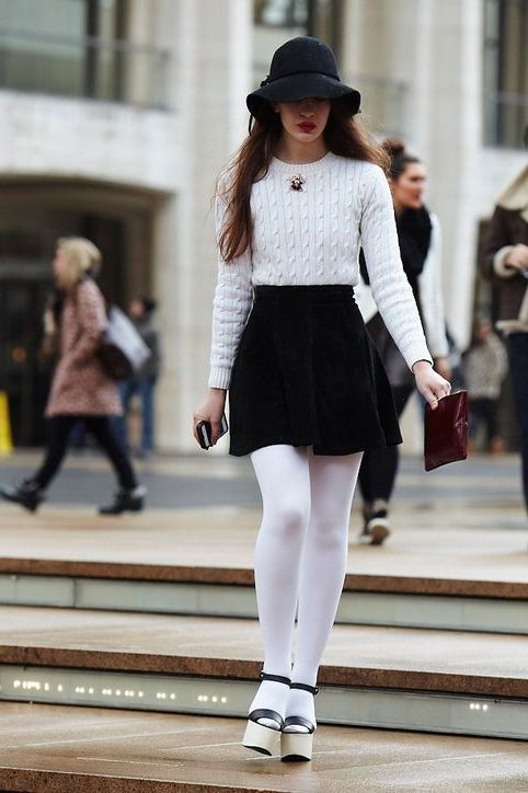Why do women wear tights