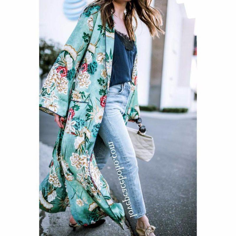 How to Style a Kimono Cardigan Next Spring 2019