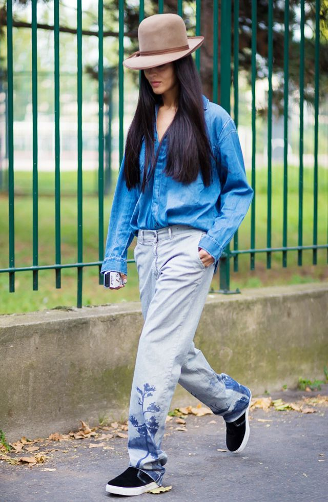 2018 Baggy Jeans Trend For Women Street Style Inspo (18)