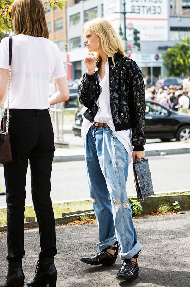 2018 Baggy Jeans Trend For Women Street Style Inspo (9)