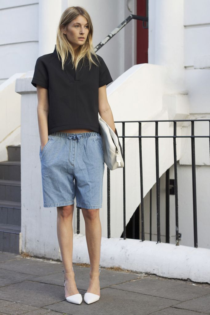 40f15daa 21 Bermuda Shorts That Are On Trend 2019 ⋆ FashionTrendWalk.com