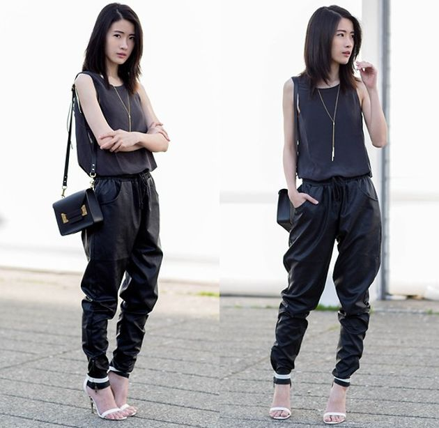 2018 Best Jogger Pants For Women Street Style Ideas And Tips (11)