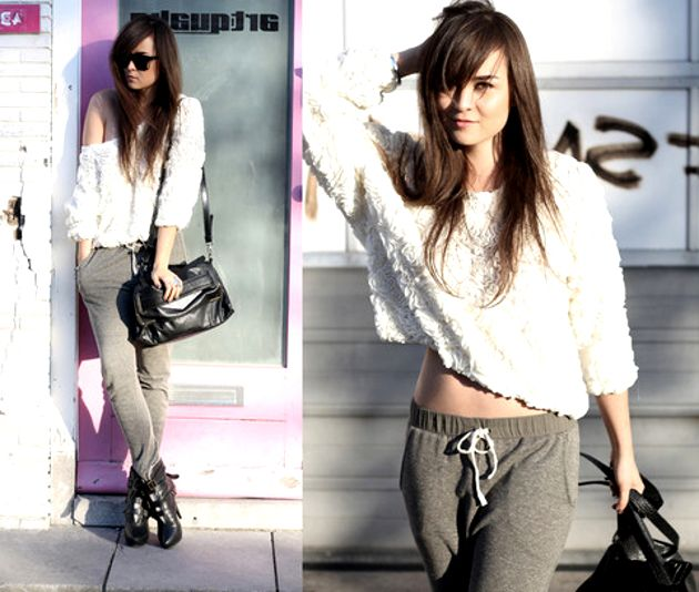 2018 Best Jogger Pants For Women Street Style Ideas And Tips (7)