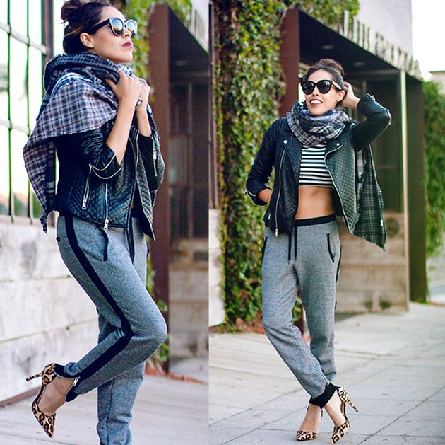 2018 Best Jogger Pants For Women Street Style Ideas And Tips (9)