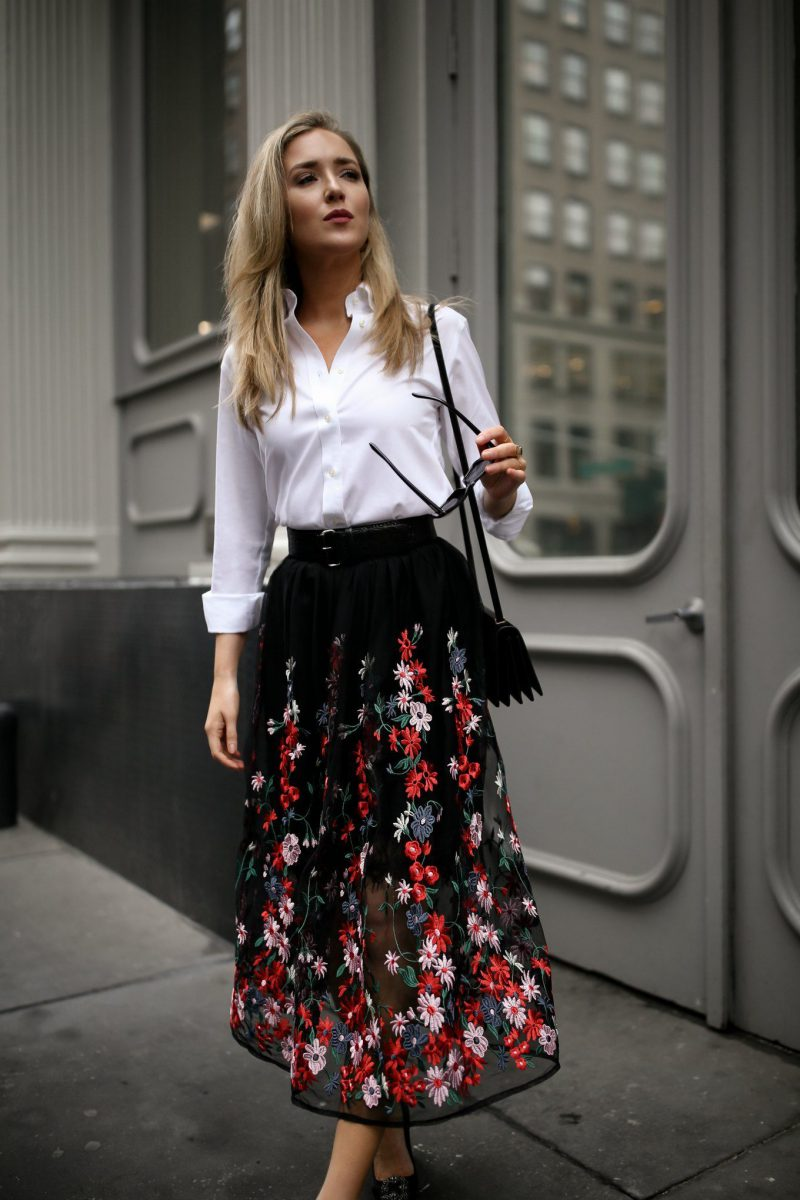 32 Ways To Wear Midi Skirts This Summer 2019