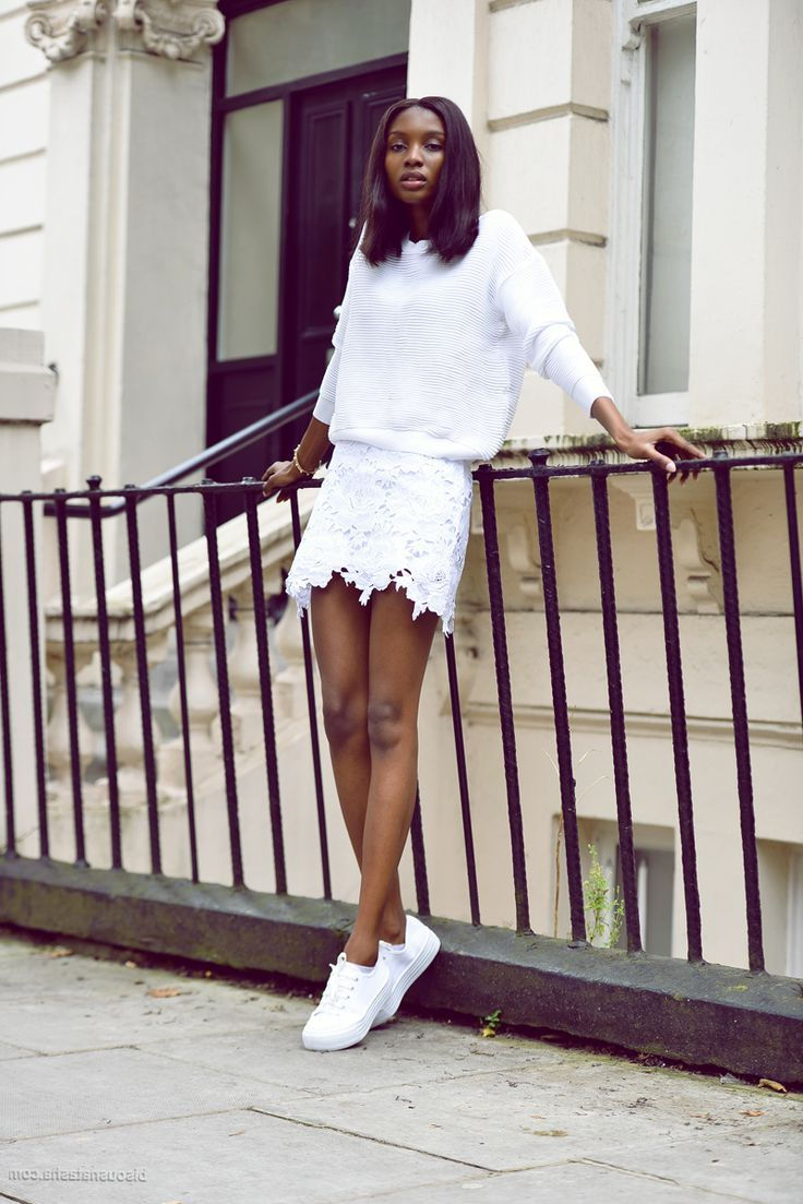 2018 Best Summer Mini Skirts And Shoes Combos For Women (1)