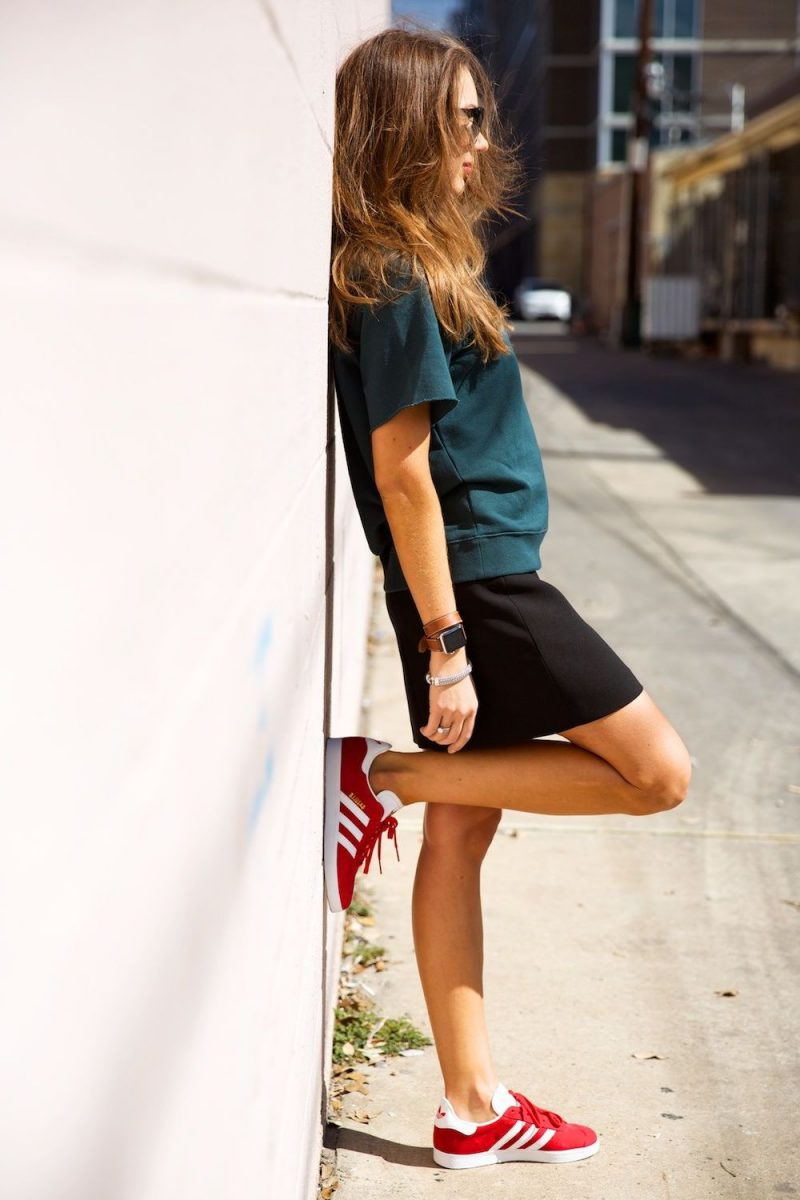 2018 Best Summer Mini Skirts And Shoes Combos For Women (12)