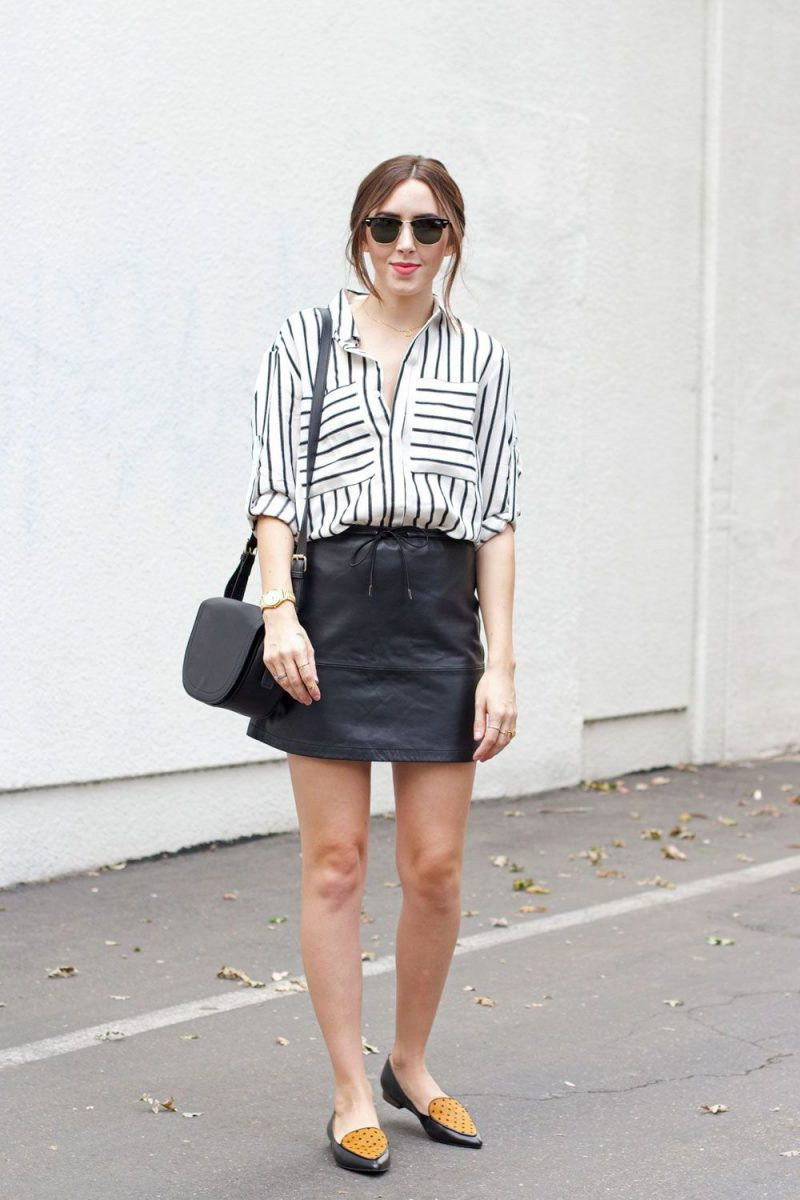 2018 Best Summer Mini Skirts And Shoes Combos For Women (14)