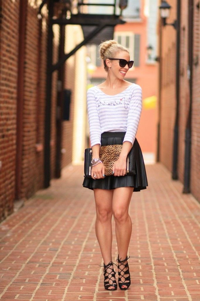 2018 Best Summer Mini Skirts And Shoes Combos For Women (15)