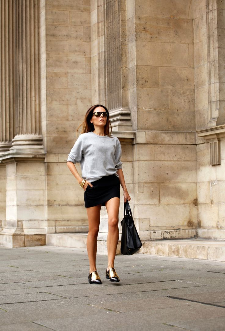 2018 Best Summer Mini Skirts And Shoes Combos For Women (17)