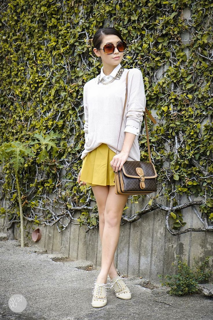2018 Best Summer Mini Skirts And Shoes Combos For Women (18)