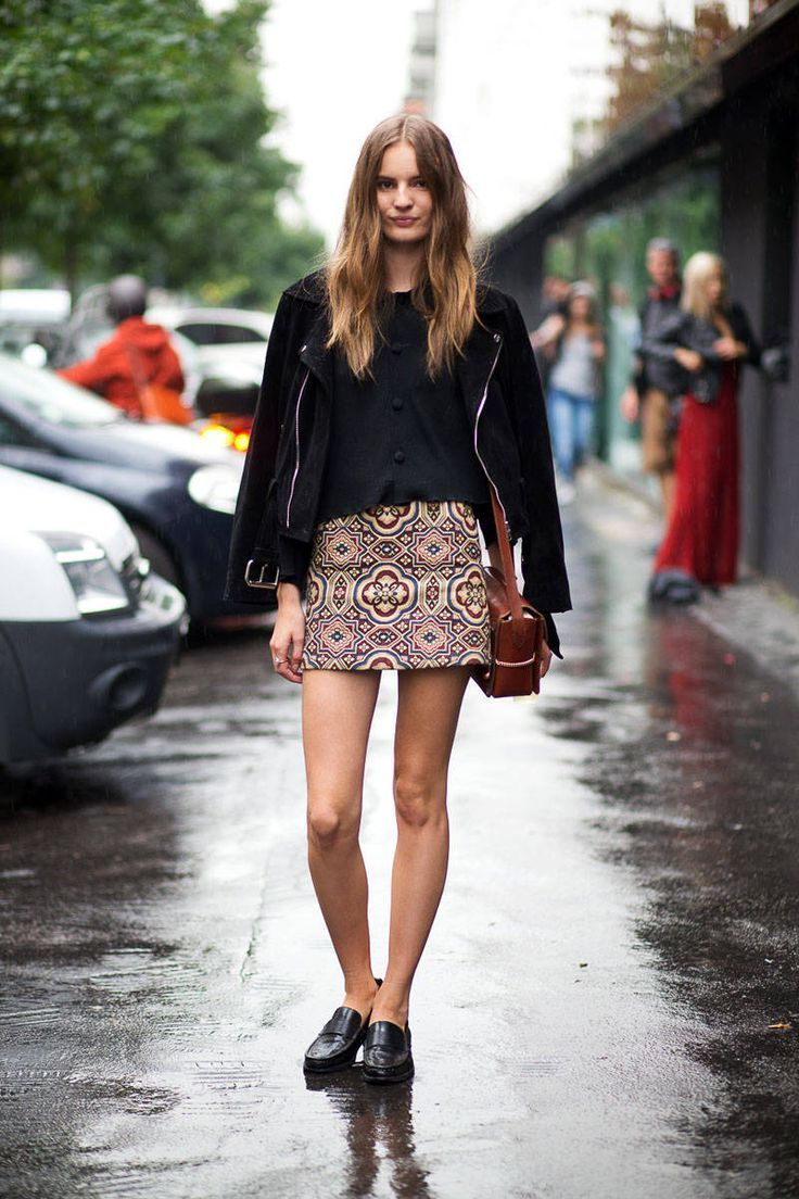 2018 Best Summer Mini Skirts And Shoes Combos For Women (19)
