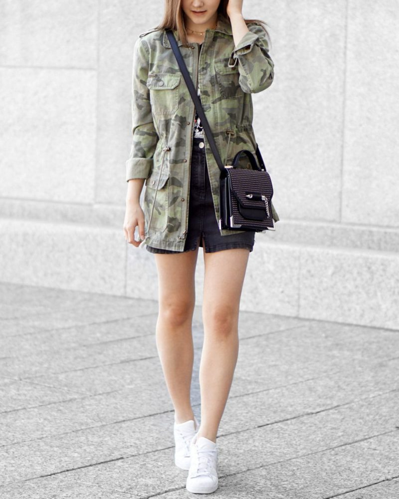 2018 Best Summer Mini Skirts And Shoes Combos For Women (20)