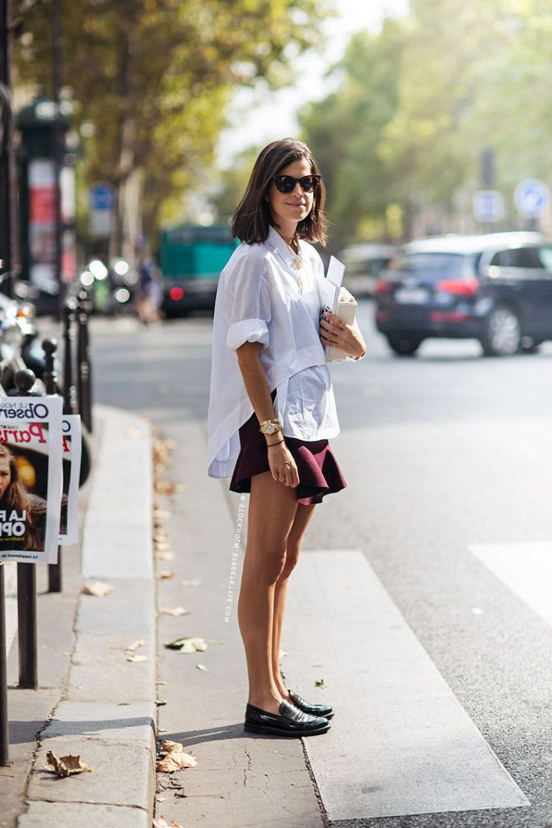 2018 Best Summer Mini Skirts And Shoes Combos For Women (21)